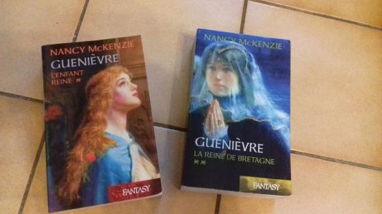 """2 livres """"guenievre"""" tome 1 & 2 - Annonce gratuite marche.fr"""