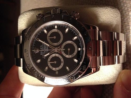 Annonce occasion, vente ou achat 'Rolex Daytona 2007 ensemble complet'