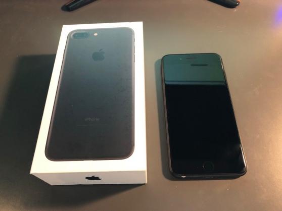 iphone 7 plus 32go noir mat - Annonce gratuite marche.fr