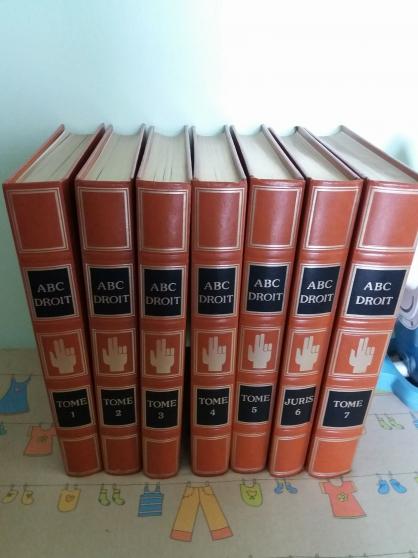 collection 7 livres abc droit - Annonce gratuite marche.fr