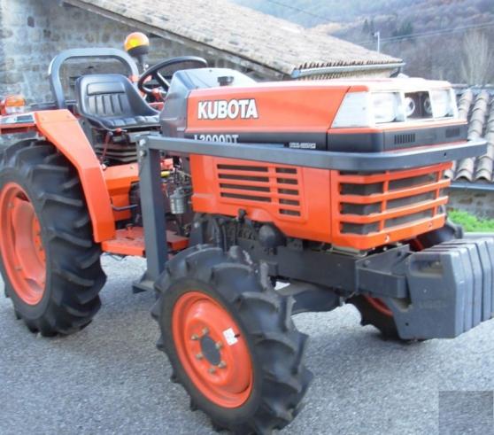 tracteur kubota - Annonce gratuite marche.fr