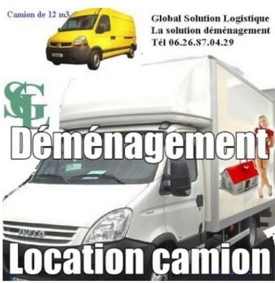Annonce occasion, vente ou achat 'Petit déménagement Paris'