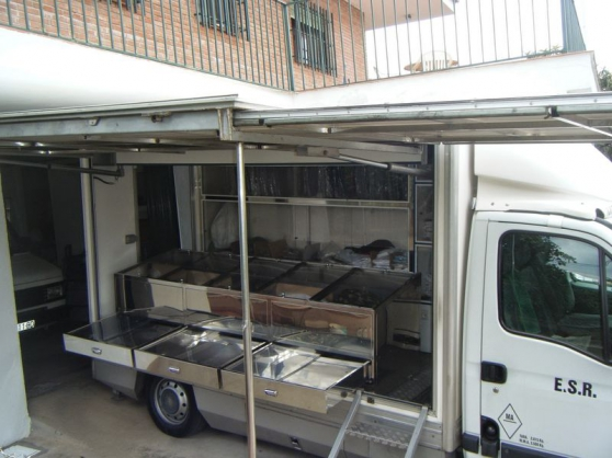 OPEL Movano camion ( pizza ) magasin
