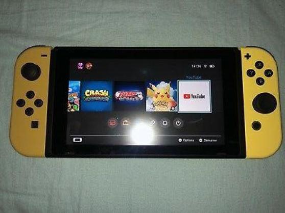Annonce occasion, vente ou achat 'Nintendo switch neuve edition limité pok'
