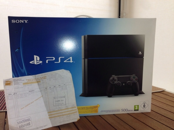 Sony Playstation 4 - PS4 - NEUF - Factur