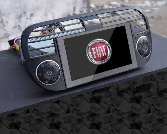 Autoradio noir DVD GPS Bluetooth pour Fi