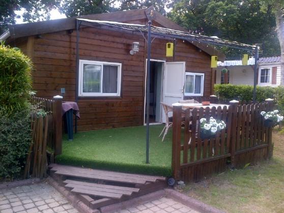 Vendschalet loisirs habitation immobilier a vendre mobil home chalets la baule escoublac - Chalet de jardin occasion a vendre ...