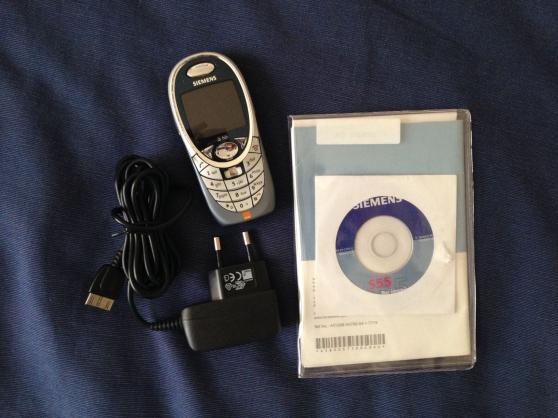 SIEMENS S55 chargeur + cd et manuel
