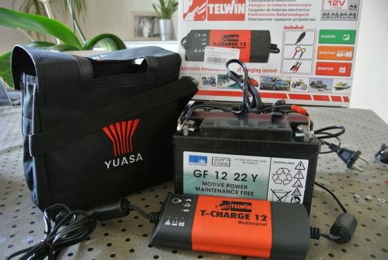 Annonce occasion, vente ou achat 'kit batterie charg. 24ah chariot de golf'