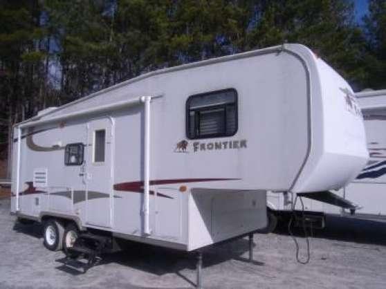 caravan kz frontier 2005 la c te en couzan caravanes. Black Bedroom Furniture Sets. Home Design Ideas