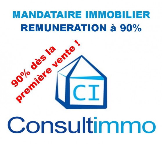 Mandataires immobilier Consultimmo 90%