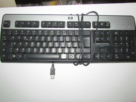 Annonce occasion, vente ou achat 'vend clavier d'ordinateur générique noir'
