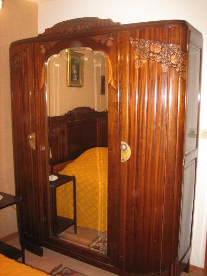 Chambre complète Bois sculpté à Evian les bains MEUBLES
