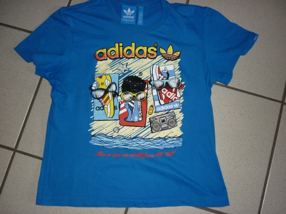 Annonce occasion, vente ou achat 'tee shirt adidas'