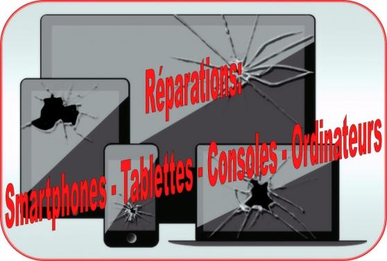 Réparations De Smartphones/Tablettes/PC