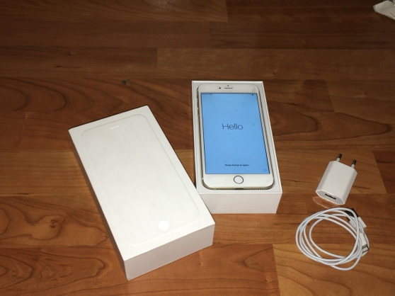 Annonce occasion, vente ou achat 'Apple iPhone 6 Plus 64 Go - OR -'