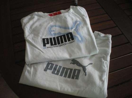 2 tee shirts PUMA original