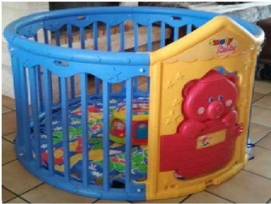 parc smoby jouets jeux parcs hornaing reference jou. Black Bedroom Furniture Sets. Home Design Ideas