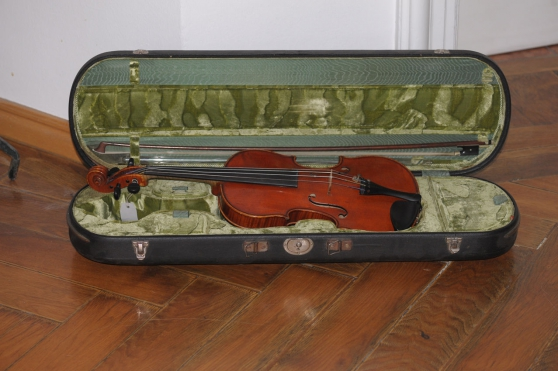 Annonce occasion, vente ou achat 'Violon par Carl Gottlob Schuster 1924 Ma'