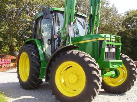 Vend de mon Tracteur John Deere 6210