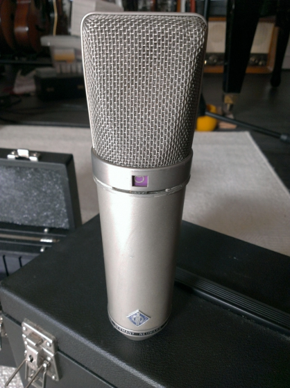 Microphone Neumann u67