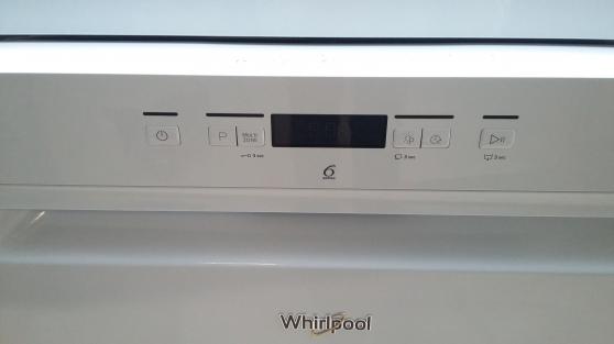 Lave vaisselle Whirlpool 6th sens
