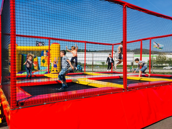 trampoline baterie - Annonce gratuite marche.fr