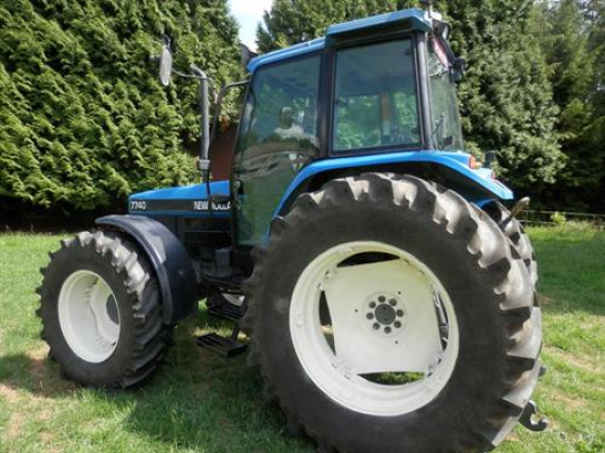 TRACTEUR NEW HOLLAND - Photo 2