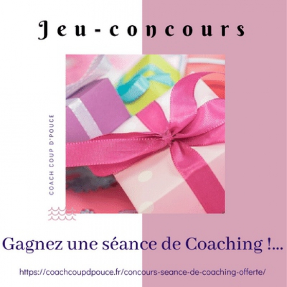 Annonce occasion, vente ou achat 'GAGNER UNE SEANCE DE COACHING'