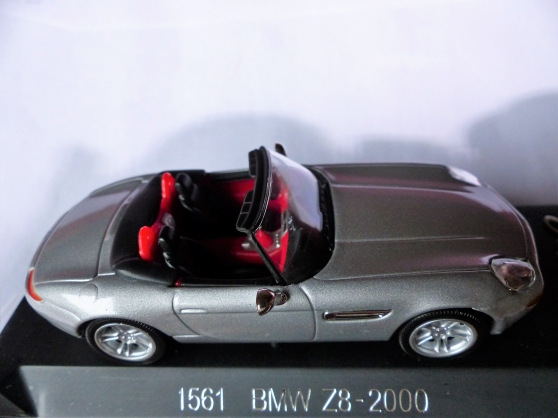 Annonce occasion, vente ou achat 'BMW Z8 et VOLKSWAGEN GOLF1 SOLIDO 1/43'