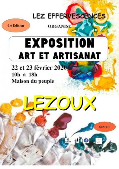 Annonce occasion, vente ou achat '6è Exposition d ART et ARTISANAT'