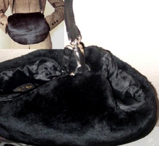 Sac-Manchon en fausse fourrure