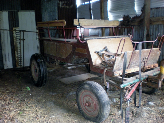 Annonce occasion, vente ou achat 'charrette 4 roues'