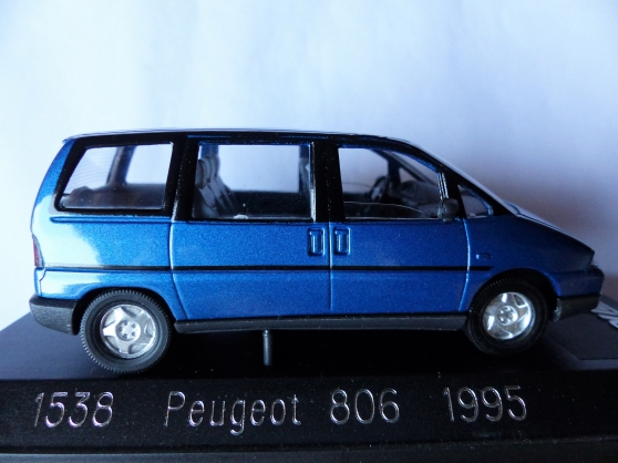 Annonce occasion, vente ou achat '2 PEUGEOT 806 et 406 coupé SOLIDO 1/43'