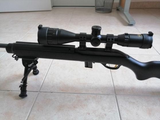 Carabine 22LR + lunette 4-16*44 - Photo 2