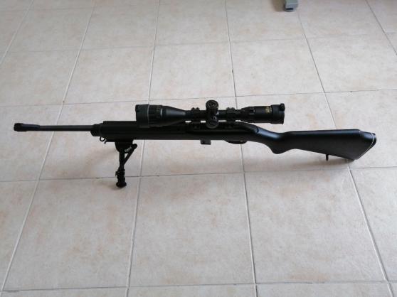 Carabine 22LR + lunette 4-16*44 - Photo 3