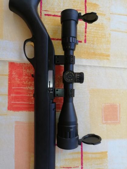 Carabine 22LR + lunette 4-16*44 - Photo 4