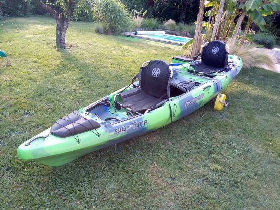 Vend Kayak de pêche Biplace JACKSON