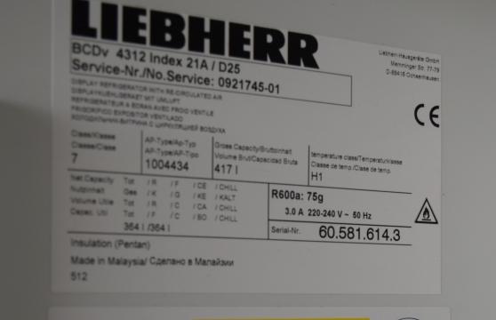 Vitrine réfrigérée LIEBHERR, 4312 - 417 - Photo 3