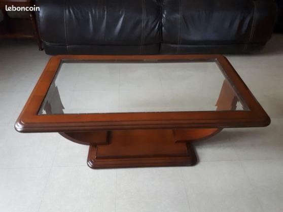 Tables basse en merisier