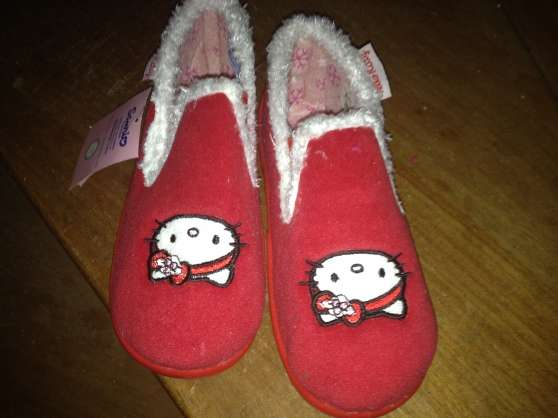 chausson et chaussures hello kitty