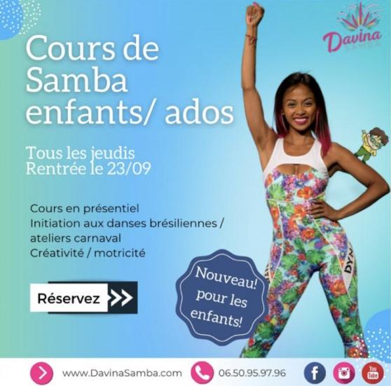 Annonce occasion, vente ou achat 'CoursdeSambaKids/Ados Lesjeudisà Groslay'