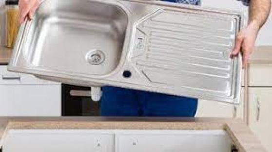 Installation d'évier pas cher