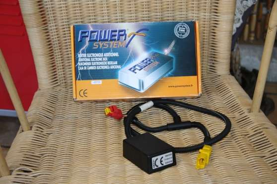 Boitier additionnel power system