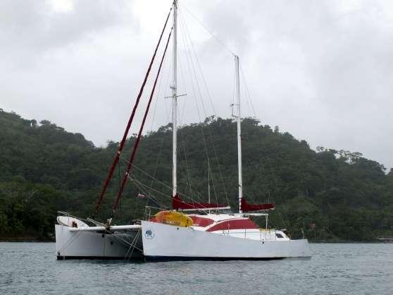 catamaran de voyage 48 pieds - Annonce gratuite marche.fr