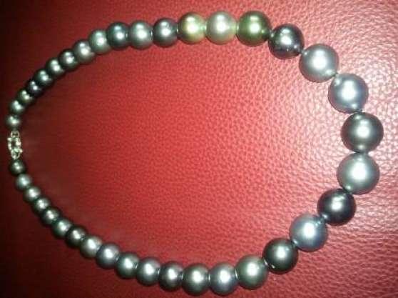 perle de tahiti-collier- à bannes - Annonce gratuite marche.fr