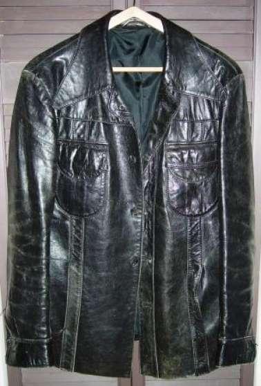 Cuir Et À Homme Veste Malo Véritable St Vintage Manteaux Vêtements 4RAL35j