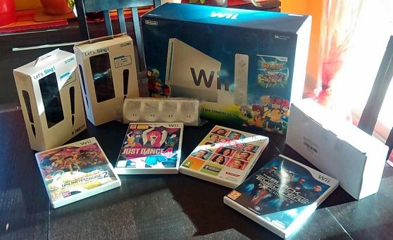 Wii INAZUMA ELEVEN + accessoires