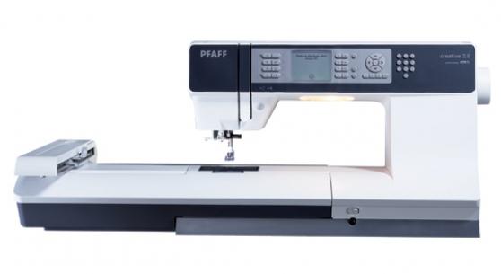 Annonce occasion, vente ou achat 'Brodeuse PFAFF + logiciel PFAFF 5D suite'