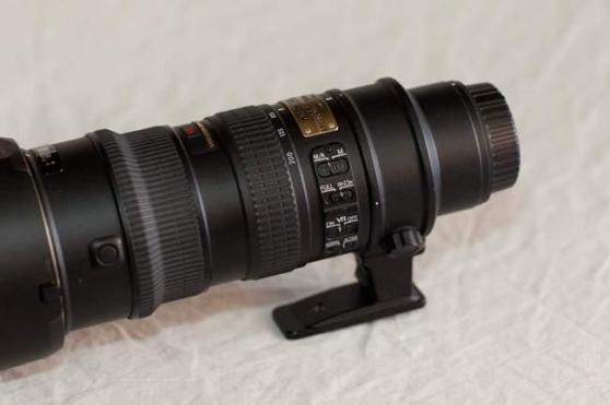 Objectif NIKON AF-S 70-200 mm f/2.8 G VR